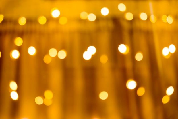 Sfondo di luci sfocate