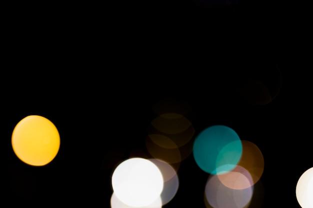 Sfondo di luci vintage scintillio rosso