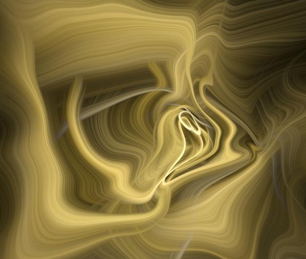 Sfondo di marmo liquido dorato di lusso
