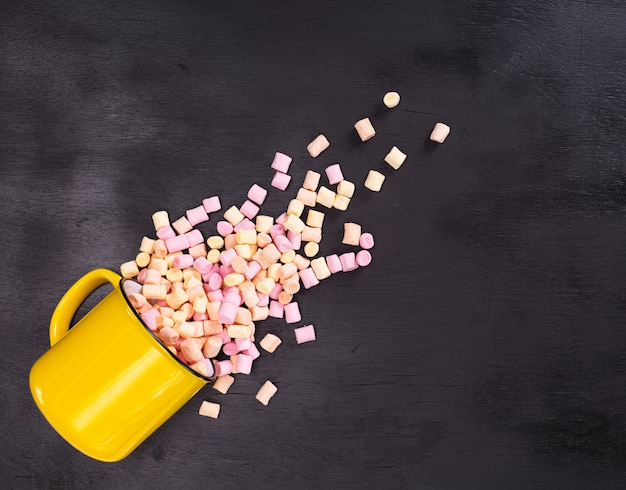 Sfondo di marshmallow