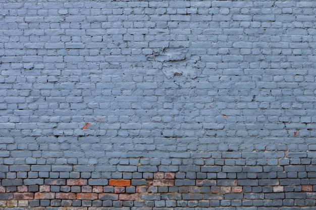 Sfondo di mattoni blu