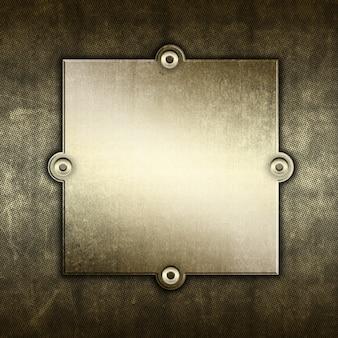 Sfondo di metallo grunge