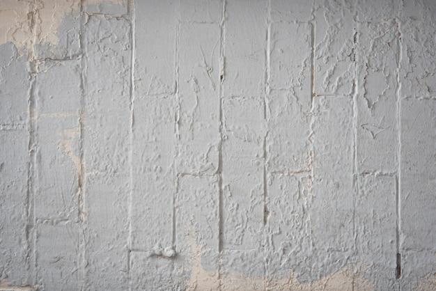 Sfondo di muro di mattoni bianchi