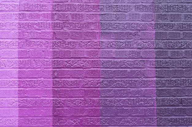 Sfondo di muro di mattoni viola