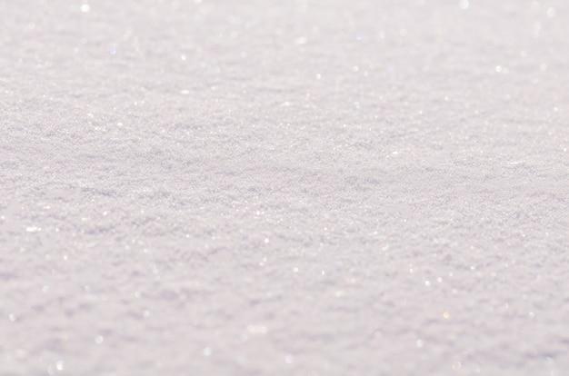 Sfondo di neve fresca