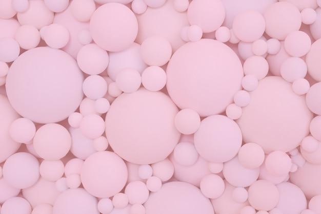 Sfondo di palloncini rosa