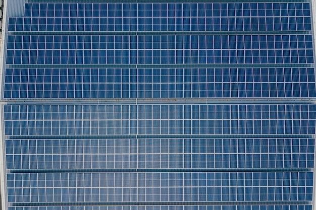 Sfondo di pannelli solari