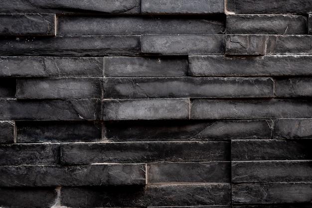 Sfondo di piastrelle quadrate rettangolo nero