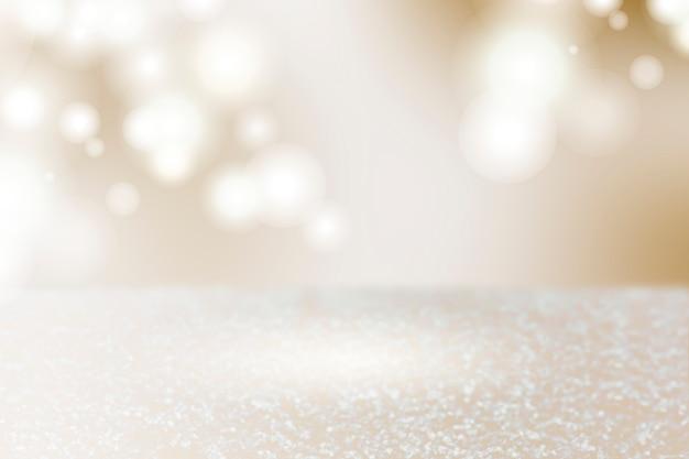 Sfondo di prodotto luci scintillanti