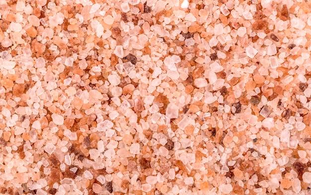 Sfondo di sale rosa dell'himalaya