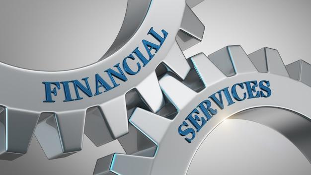 Sfondo di servizi finanziari