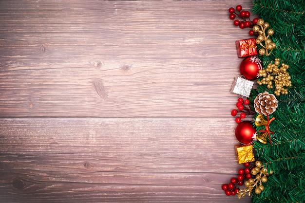 Sfondo di stagione di natale e felice anno nuovo