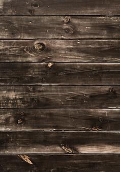 Sfondo di strisce orizzontali in legno rustico
