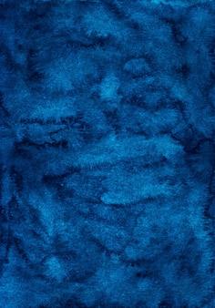 Sfondo di superficie dell'acquerello blu scuro