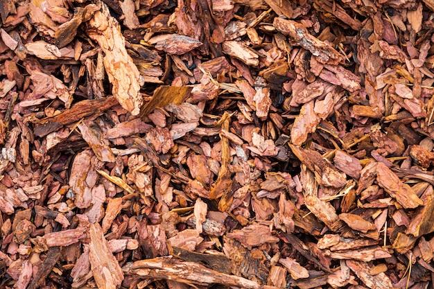 Sfondo di suwdust woooden marrone