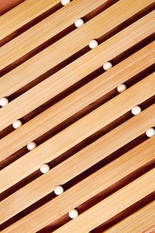 Sfondo di tappetino beige
