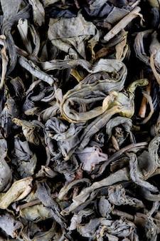 Sfondo di tè verde di alta qualità