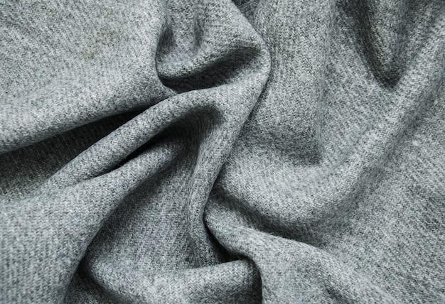 Sfondo di tessuto grigio