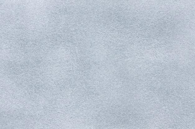 Sfondo di tessuto scamosciato grigio chiaro