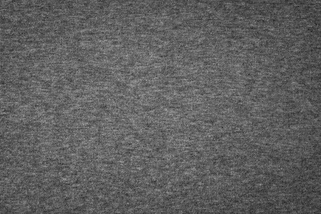 Sfondo di trama di cotone grigio