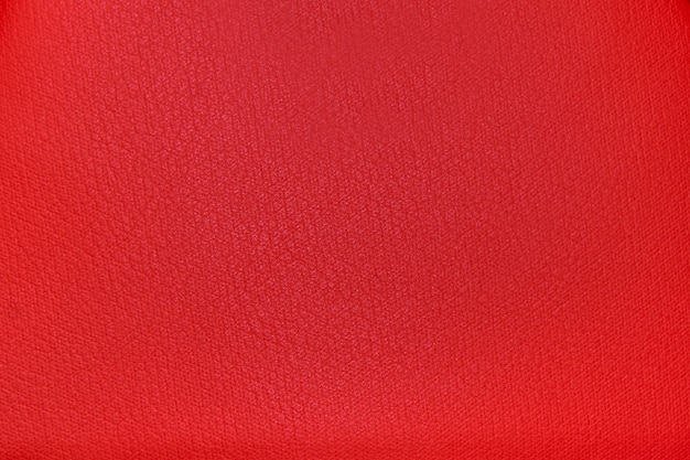 Sfondo di trama di tessuto rosso brillante