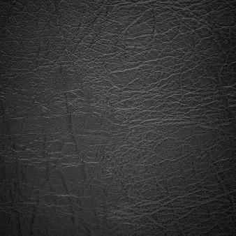Sfondo di trama in pelle nera