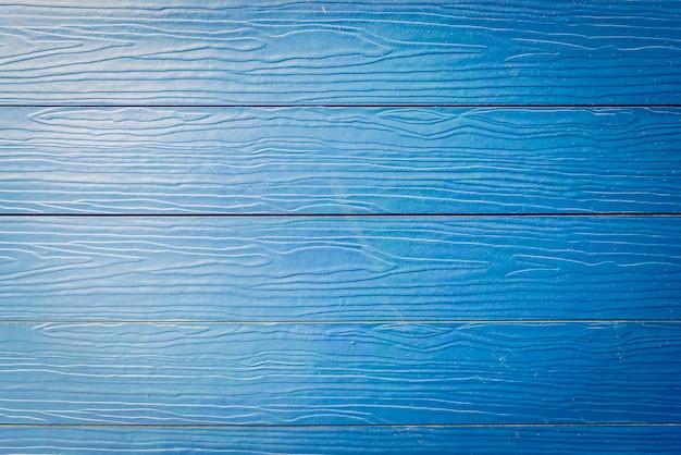 Sfondo di trame di legno blu