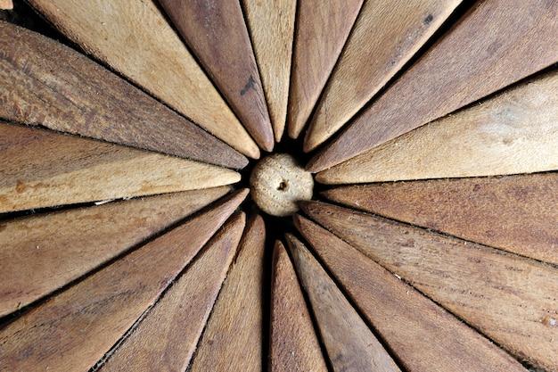 Sfondo di vecchi piatti di legno