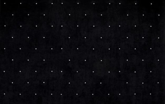 Sfondo di velluto nero con cristalli