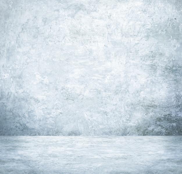 Sfondo, display del prodotto, stanza vuota cemento bianco, interior design, derisione su sfondo