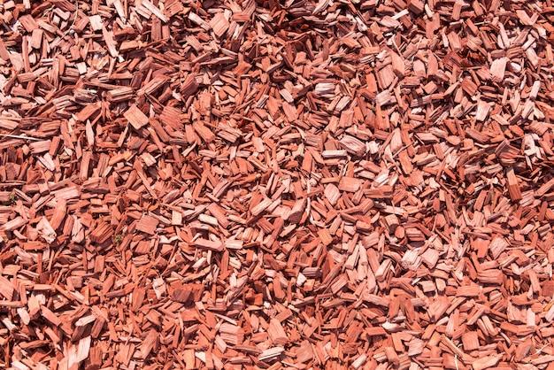 Sfondo fatto da trucioli di legno marrone