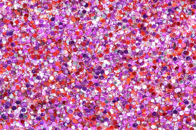 Sfondo festivo glitter rosa lucido