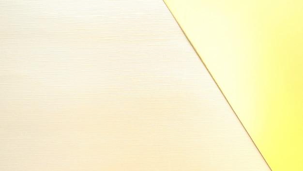 Sfondo geometrico di carta avorio e oro