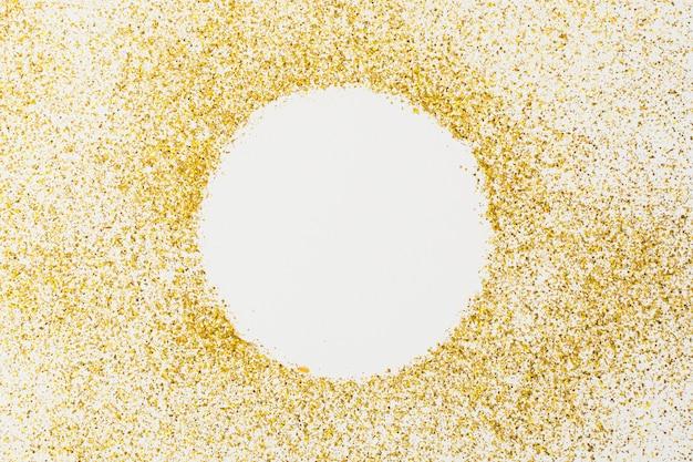 Sfondo glitter dorato lucido