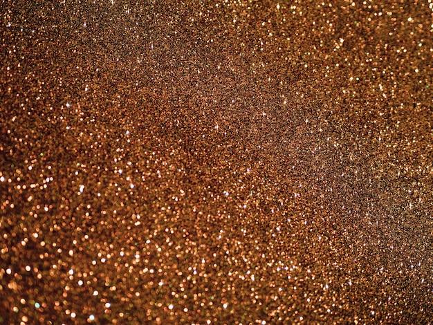 Sfondo glitter marrone vista dall'alto