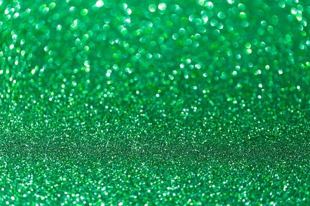 Sfondo glitter verde smeraldo