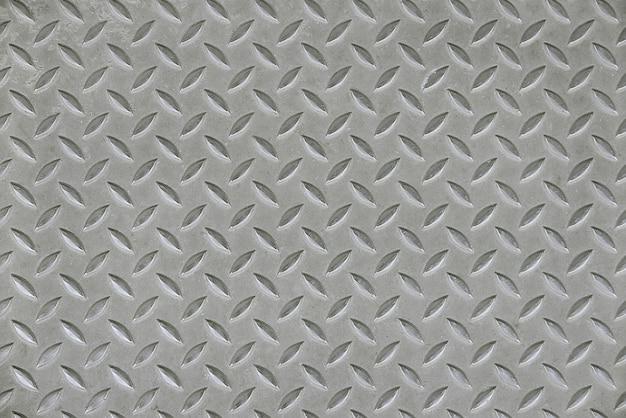 Sfondo grigio pavimentazione in metallo
