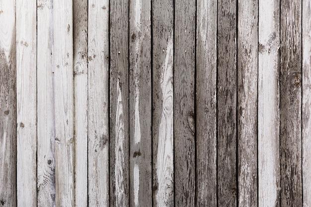 Sfondo in legno bianco e nero