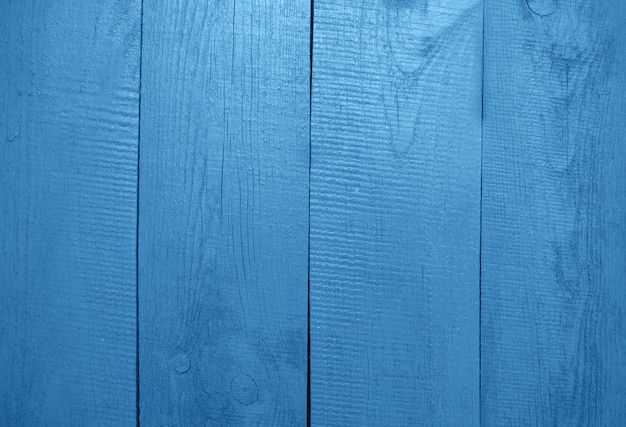 Sfondo in legno verniciato blu