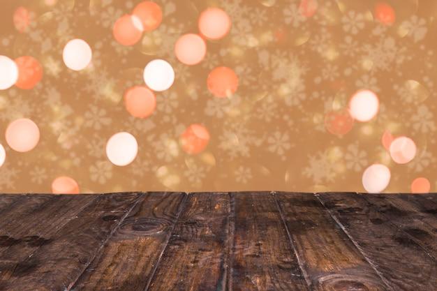 Sfondo incantevole glitter con stile natalizio