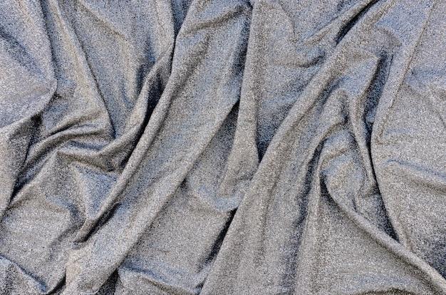 Sfondo materiale grigio di primo piano
