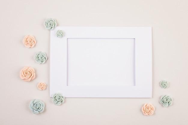 Sfondo minimal decorativo pastello
