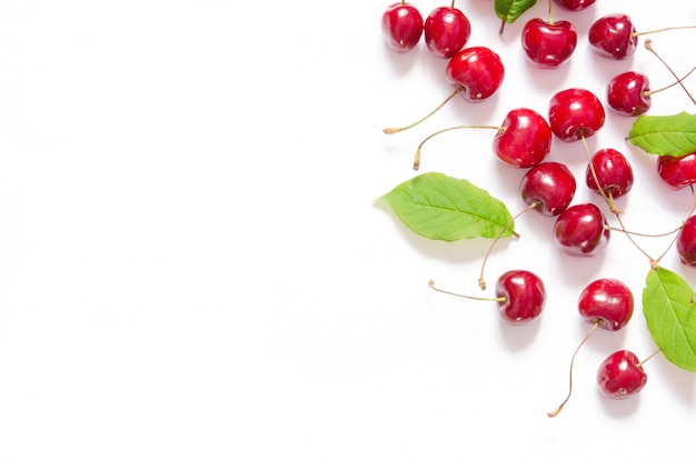 Sfondo modello ciliegia fresca