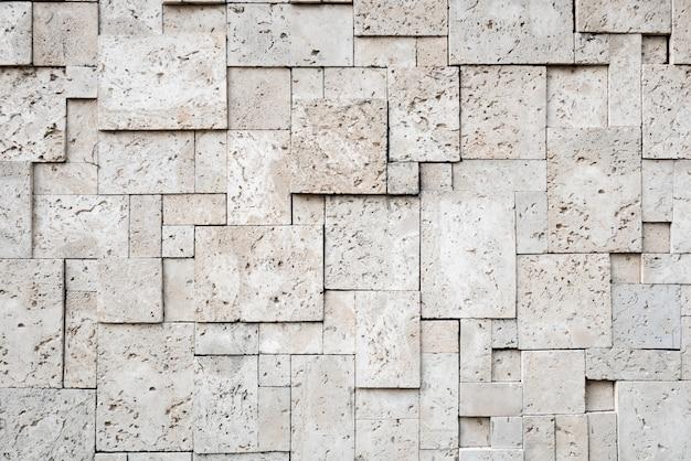 Sfondo moderno elegante superficie quadrata di pietra