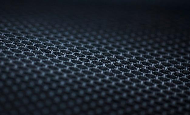Sfondo nero trama carbonio