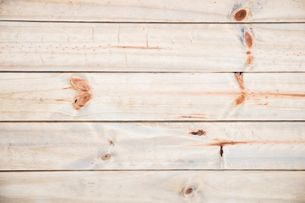 Sfondo piatto in legno disteso
