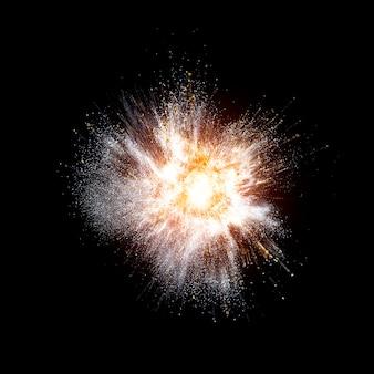 Sfondo reale esplosione
