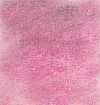 Sfondo rosa di un disegno con gessetti pastelli morbidi