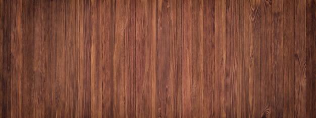 Sfondo scuro di tavole marrone, tavola di grano di legno