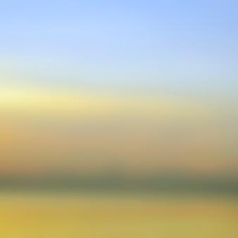 Sfondo sfocato alba, luce del primo mattino, i fenomeni di illuminazione naturale.
